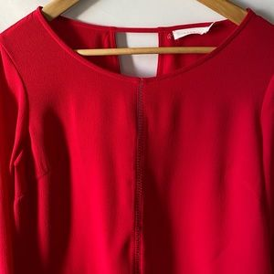 Lush Women Career Top Size XS Red/Maroon